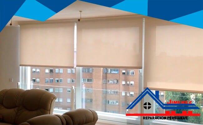 Instalación de cortinas enrrollables