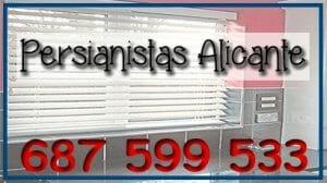 Reparación persianas Alicante