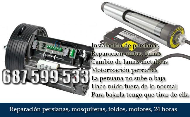 Motorización persianas
