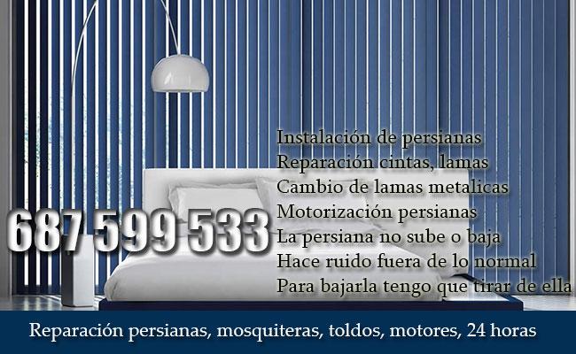 Reparación persianas Zaragoza